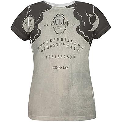 Halloween Ouija Board Costume All Over Womens T-Shirt