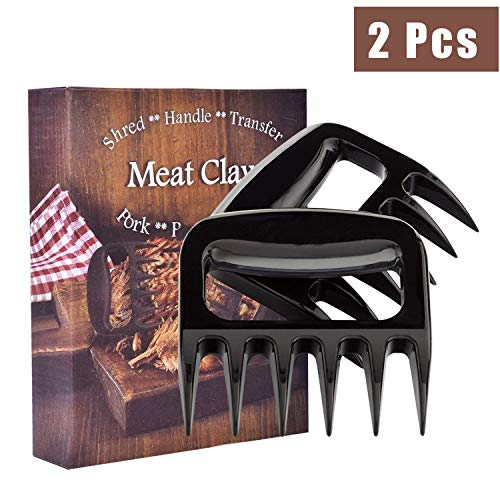 (2-Pack Meat Claw, Meat Claws for Shredding Pulling Handing Serving Pork Turkey Chicken Meat Shredder)
