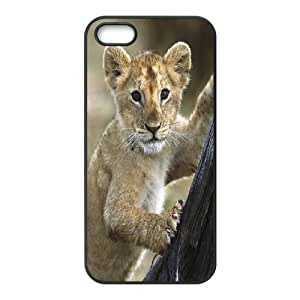 For SamSung Galaxy S4 Phone Case Cover Lion Cub Hard Shell Back Black For SamSung Galaxy S4 Phone Case Cover 315038