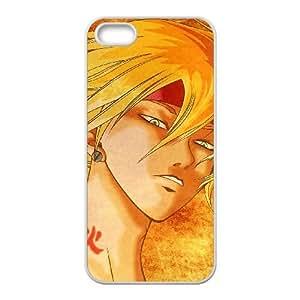 Samurai Deeper Kyo iPhone 5 5s Cell Phone Case White Qxhpm