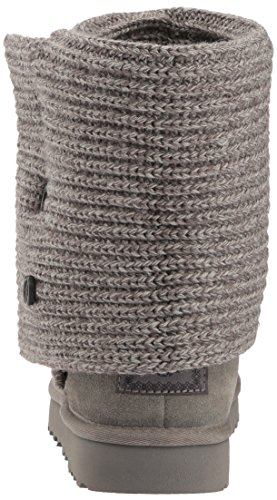 UGG Women's Classic Cardy Winter Boot, Grey, 8 B US by UGG (Image #2)