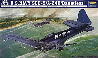 Trumpeter 1/32 SBD5/A24B Dauntless US Navy Aircraft