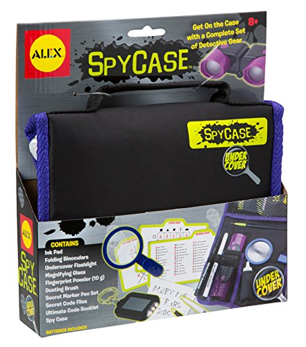Alex Undercover Spy Case Detective Gear Set Kids Spy Kit
