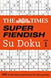 The Times Super Fiendish Su Doku Book 1, Times Mind Games Staff, 0007580746