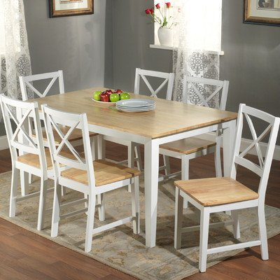Superbe Crossback 7 Piece Dining Set