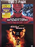 THE AMAZING SPIDER-MAN and GHOST RIDER 2-Pack DVD Set (Both GREAT Movies Together 1 Marvel Set)