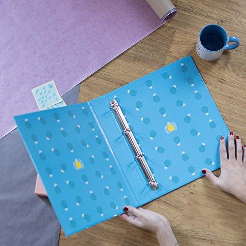 La mente es maravillosa-Archivador original -Regalo para amiga con dibujos-MENTE: Amazon.es: Oficina y papelería