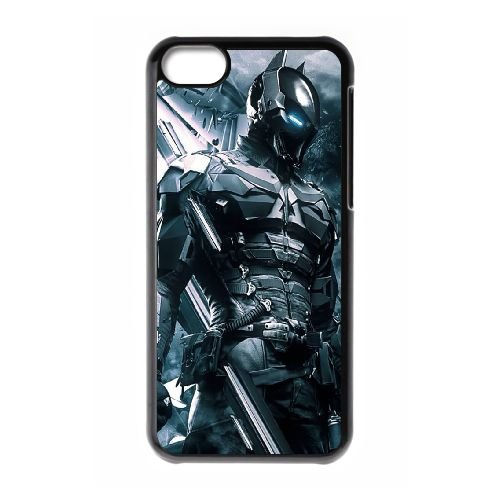 Batman coque iPhone 5C Housse téléphone Noir de couverture de cas coque EBDOBCKCO10026