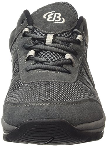 Bruetting Trevor - Zapatos para caminar de material sintético hombre gris - Grau (Anthrazit/Grau)