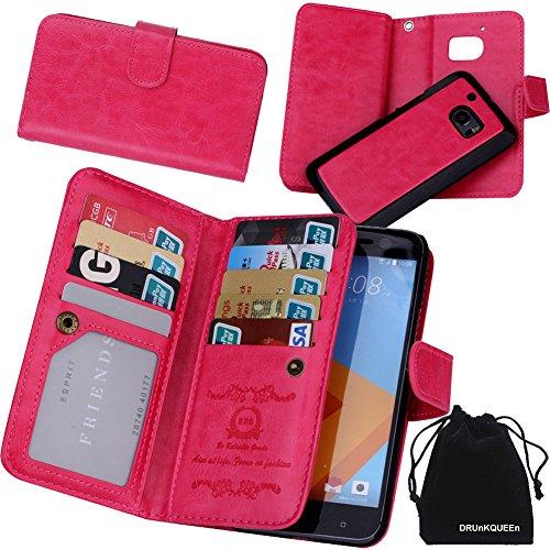 drunkqueen-htc-10-case-premium-leather-credit-card-holder-feature-wallet-type-flip-folio-case-detach