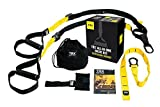 TRX Training – Suspension Trainer Basic Kit + Door Anchor, Complete Full Body Workouts Kit for...