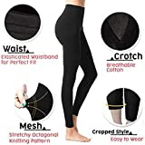 Lmtime Women 2019 Leg Shaper Pants Shapewear Thigh Slimmer Waist Sculpting Sleep Legging Bodysuit Socks (M, Black)