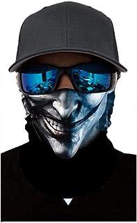 KoojawindLa Migliore Maschera a Pieno facciale, Maschera da Sci Premium e Scaldacollo per Moto e Ciclismo, Pesca, Motociclismo, Corsa, Skateboard, Protezione antiumidità da umidità