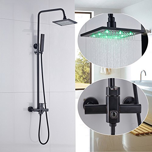 8 inches ORB shower head with led - 4