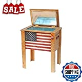 Patio Beverage Cooler Portable Drinks Cooler Bar Table Outdoor...