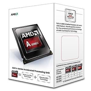 AMD A series A8-6500 - Procesador (AMD A8, Socket FM2, PC, A8-6500, 64 bits, L2)