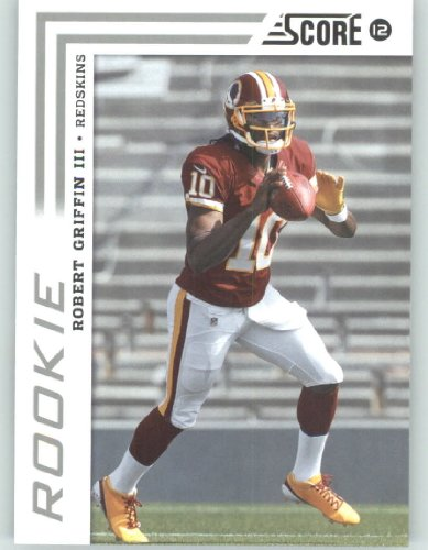 2012 Score Football Card #368 Robert Griffin III RC - Washington Redskins (RC - Rookie Card)(NFL Trading Card) 2012 Score Football Card