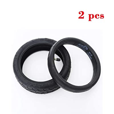 Imjoyful 2pcs Inner + Outer Tyres 8 1/2 × 2 for Xiaomi M365 Electric Scooter Replacement Part Accessory : Sports & Outdoors