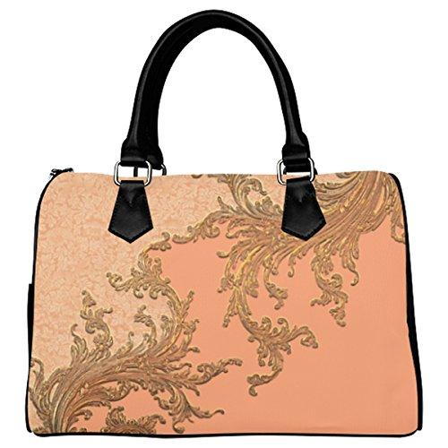 Jasonea Women Boston Handbag Top Handle Handbag Satchel A Touch Of Vintage Basad157886