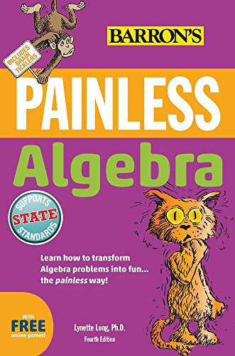 1438007752 - Painless Algebra (Painless Series)