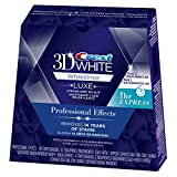 Best Home Teeth Whitening Kits Crest 3D White Luxe Whitestrips Professional Effects - 20 Treatments and White Whitestrips 1 Hour Express - 2 Treatments Teeth Whitening Kit
