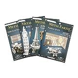 Metal Earth - 5061015 - Maquette 3D - Aviation - Navette Spatiale Atlantis - 9,91 x 6,93 x 4,95 cm - 1 pièce