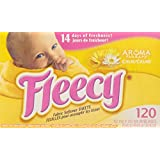 Fleecy Aroma Therapy Calm Sheets, 120 Count