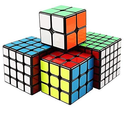 [해외]XMD 큐브 세트 4 개 들이 팝업 방지 입체 퍼즐 장난감 (세트 2 ~ 5) / XMD Cube Set 4 pcs Pop Prevention Solid Puzzle Toy (Sets 2-5)