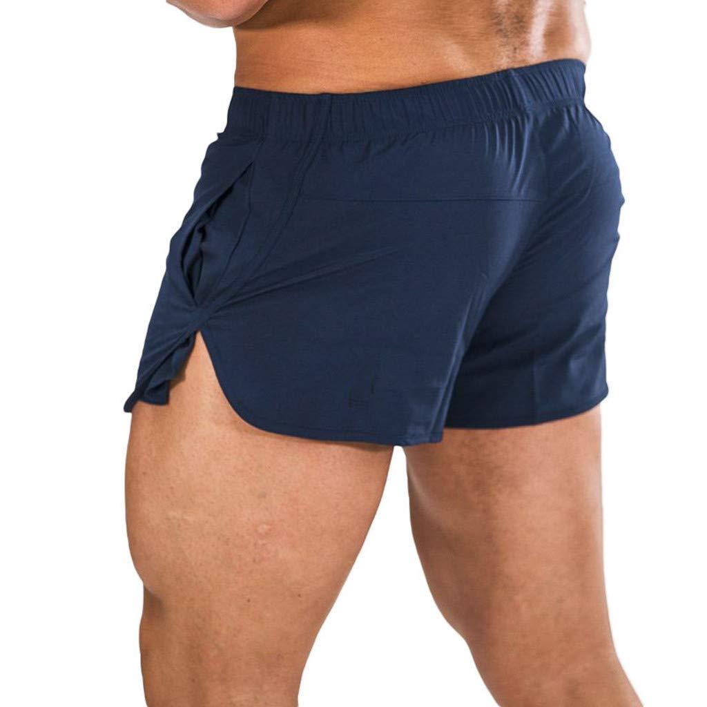Yomiafy Mens Swimwear Running Surfing Sports Quick Dry Swim Shorts Beach Shorts Trunks Board Pants