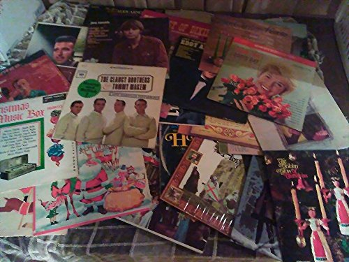 "12"" Vinyl Records for Arts & Crafts Decoration - 1980's and"