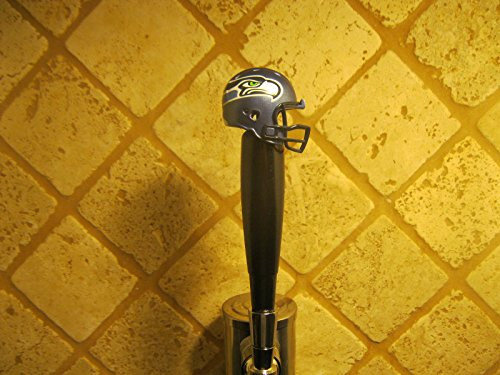 Football Tap Handle (Seahawks Kegerator Beer Tap Handle Football Helmet Team Bar New)
