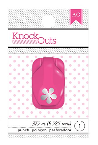 American Crafts Knock Outs Mini Flower Punch, 3/8