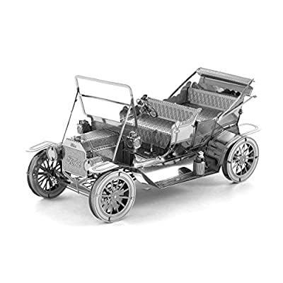 Fascinations Metal Earth 1908 Ford Model T 3D Metal Model Kit: Toys & Games