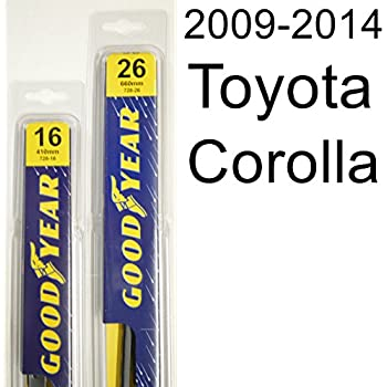 Toyota Corolla (2009-2014) Wiper Blade Kit - Set Includes 26