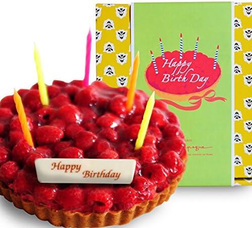 [スポンサー プロダクト]a la campagne(ア・ラ・カンパーニュ) 誕生日 バースデー ケーキ (木いちご) ローソク・プレート付き