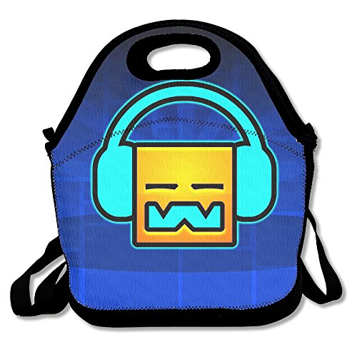 Geometry Dash Travel Tote Lunch Bag