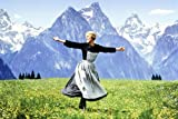 #10: The Sound Of Music 24X36 Poster Julie Andrews dancing in Austrian hills