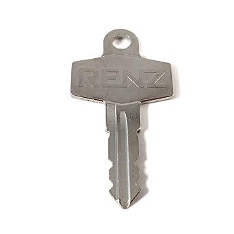 037 Original RENZ Schlüssel Briefkastenschlüssel Ersatzschlüssel Nr.