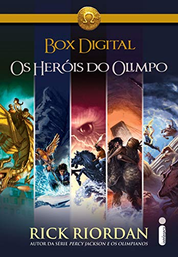 Os Heróis Do Olimpo - Box
