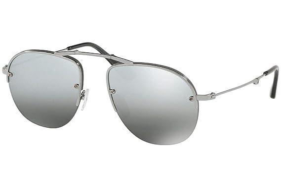 Amazon.com: Prada PR54US - Gafas de sol plegables con espejo ...