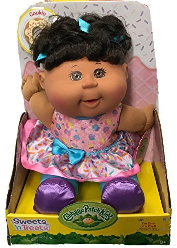 Cabbage Patch Kids Sweets 'n Treats Baby Doll (Ethnic, Brown Eyes) (Cabbage Patch Doll Black)