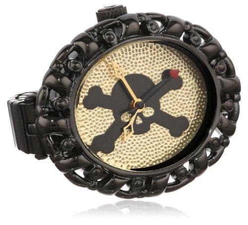 Vivienne Westwood Women's 'Plimlico' Swiss Quartz Stainless Steel Dress Watch, Color:Black (Model: (Vivienne Westwood Model)