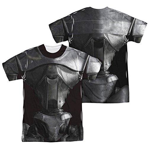 Battlestar Galactica Boomer Costume (Battle Star Galactica- Centurion Costume Tee (Front/Back) T-Shirt Size XXXL)