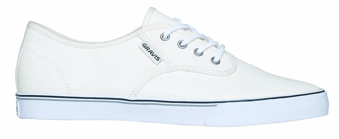 2e18f8c8451b Gravis Men s Slymz Wax Mns Shoes 268899 White Wax 107 4.5 UK  Amazon.co.uk   Shoes   Bags