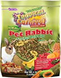 F.M.Brown's Tropical Carnival Natural Rabbit Food, 4-Pound Package
