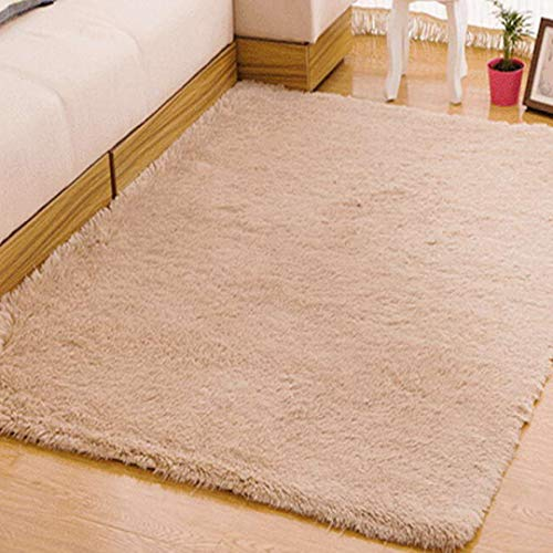 Living Room Carpet European Fluffy Mat Kids Room Bedroom Mat Antiskid Soft Faux Fur Area Rug Rectangle Mats
