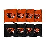 Victory Tailgate 8 Oregon State Beavers Cornhole Bags (corn-filled)