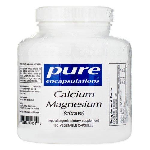 Calcium Magnésium (citrate) 180c