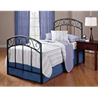 Hillsdale Furniture 298BTW Wendell Bed Set, Twin, Textured Black