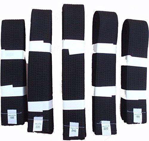 Las artes marciales - cinturones negros - cada tamaño Sportsupply.org